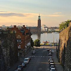"фото ""еще раз про Стокгольмскую ратушу на закате"""