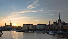 "фото ""закат над старым городом"""