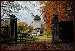 "фото ""the wind mill of Bokrijk Genk"""