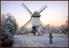 "фото ""wind mill in the winter !"""