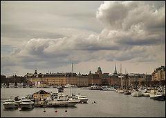 """фото """"Стокгольм, переменная облачность (2)."""""""