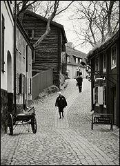 """фото """"Стекает старого Стокгольма мостовая..."""""""