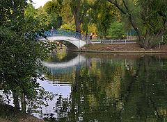 "photo ""The bridge and reflection."""