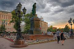"photo ""Evening at Pushkin Square."""