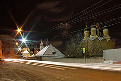 """photo """"Moscow night."""""""