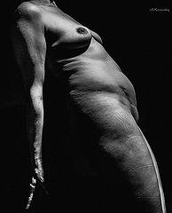 Flesh hyperrealism in photography.