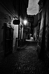 фото Фонарь и улочка