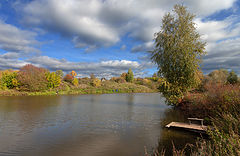 фото Осенний мостик