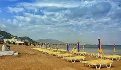 фото Пустынный пляж