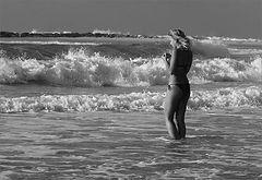 фото Девочка и море