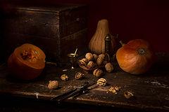 фото Тыквы и орешки