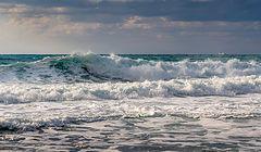 фото волнуется море