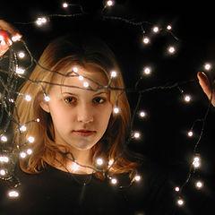 """фото """"Новогодние светлячки"""""""