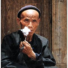 """photo """"Smoking Man"""""""