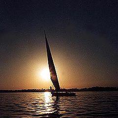 """photo """"Sailing on the Nile # 2"""""""