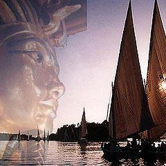 """photo """"Sailing on the Nile # 3"""""""