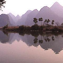 """фото """"LiJinag River`s Landscape"""""""
