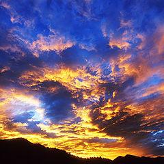"фото ""Sunset Over Boulder"""