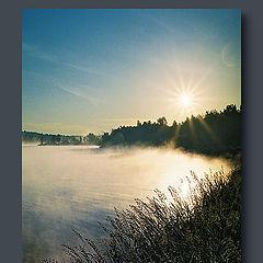 """photo """"Foggy sunrizes"""""""