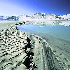 "фото ""Mountain & lake"""