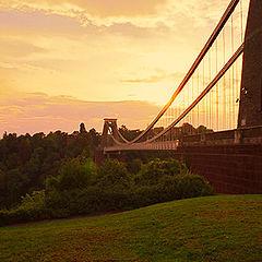 """фото """"Avon Gorge Bridge"""""""