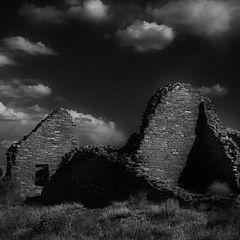 """фото """"Moonlight Visit of Anasazi at Chaco"""""""