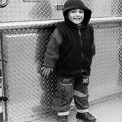 "photo ""I´ll be a Fireman !"""