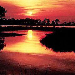 "фото ""Sunset On Goose Bayou"""