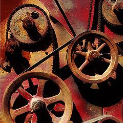 """photo """"Gears #6"""""""