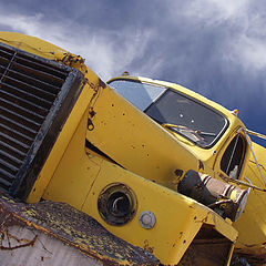 """photo """"Yellow Truck"""""""