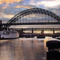 """фото """"Newcastle at Dusk"""""""