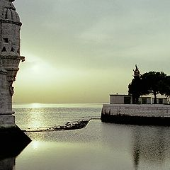 "photo ""Sunset in Belem"""