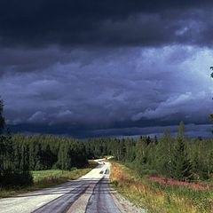 "photo ""On a Finnish Road"""
