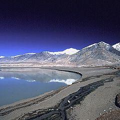 "photo ""Snowy mountain`s landscape"""
