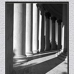 "фото ""Thomas Jefferson Memorial - ""Тени"""""
