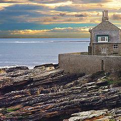 "фото ""Sea Cottage Sunset"""