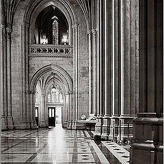 """фото """"National Cathedral (Фрагменты -взгляд изнутри)."""""""
