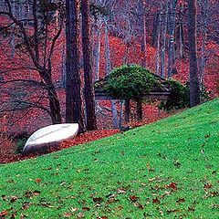 """photo """"The Canoe"""""""