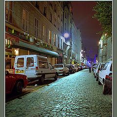 "фото ""Ночные улочки Парижа."""