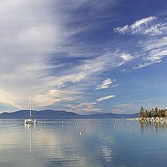 """фото """"Озеро Тахо. Тишина."""""""