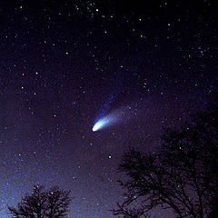 "photo ""Comet Hale-Bopp"""