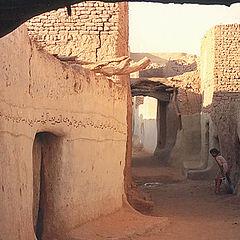 """photo """"Desert Village"""""""