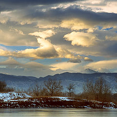 "фото ""Longs Peak From Sawhill"""