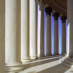 "фото ""Thomas Jefferson Memorial -""Тени"" V2"""