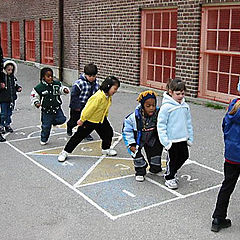 "photo ""Hopping to classroom"""