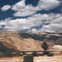 """photo """"Mountains & Desert"""""""
