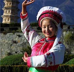 "фото ""Girl in Yunnan, China"""