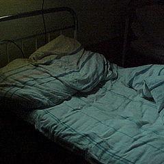 """фото """"Одинокая больничная койка.."""""""