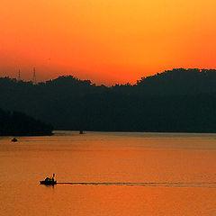 """photo """"Sun Moon Lake (II)"""""""
