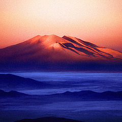 "photo ""Volcan Ollague"""